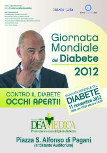 Fondazione Deamedica-Giornata Mondiale del Diabete 2012