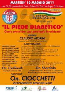 Il Piede diabetico- Come prevenire una patologia invalidante